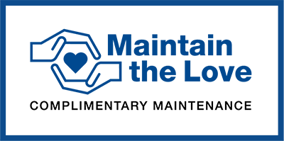 Maintain The Love | Complementary Maintenance
